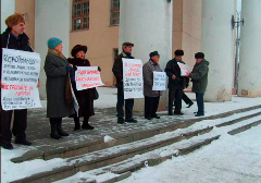 Picket for a new clinic forbidden in Salihorsk