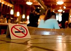 В ресторанах запретят курить