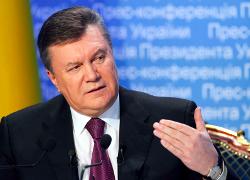 Янукович заплатил за демаркацию границы $134 миллиона