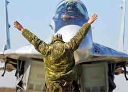 Russian fighter jets have gone on combat duty in Babrujsk