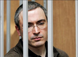 Путин обещает помиловать Ходорковского