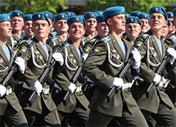 Russian paratroopers will march through Minsk