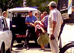 Зачистка на рынке в Пинске (Видео)