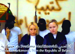 Belarusian woman escapes from Syrian captivity (Video)