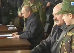 Коля с папой встретились с Путиным на маневрах (Видео)