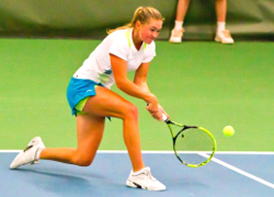 Belarus' Sasnovich out of Wimbledon qualifier