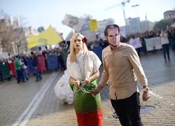 Протестующие студенты заблокировали университет Софии