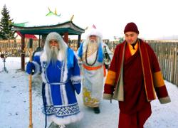 Йоулупукки и Кыш-Бабай едут в Беларусь