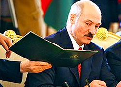 Lukashenka received letter from Luhansk terrorists