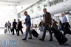 В аэропорту Мюнхена украинцев попросили перейти к окошку регистрации «EU»