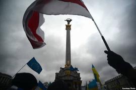Евромайдан: Жыве Беларусь!