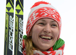 Darya Domracheva awarded Hero of Belarus title