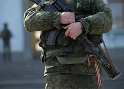 Details about killing of army officer in Crimea: Occupants threw grenades at people