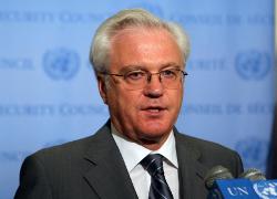 Чуркин в ООН: Россия действует в рамках соглашения о Черноморском флоте