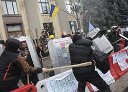 97 человек пострадали во время штурма обладминистрации в Харькове