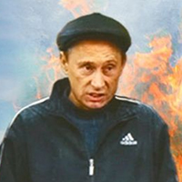 Гопнік Путін втікатиме з Донбасу
