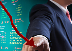 Russian stock indices drop as USA escalates sanctions