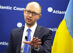 Yatsenyuk: Game over for Russia. Such deeds to be answered for in International Tribunal