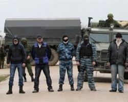 На границе с Украиной в Крыму - 40 тысяч российских военных