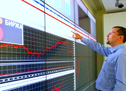 Moscow exchange setback: investors sell Russian companies� stocks