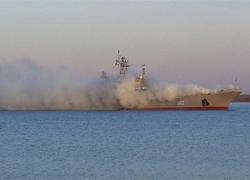 Узброеныя баевікі ўзялі штурмам карабель «Канстанцін Альшанскі»