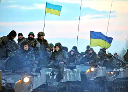 Ukrainian army launches anti-terrorism operation in Donbas