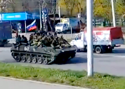 Defense ministry: Russian saboteurs capture six Ukrainian armored vehicles in Kramatorsk