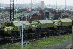 Military vehicles noticed in Baranavichy