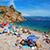 Януковича «заметили» на пляже в Крыму (Видео)