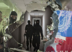 Separatists control 15 administrative buildings in Donetsk region