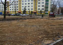 Минчане протестуют против парковок на зеленых зонах