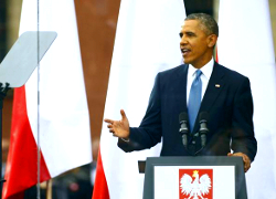 Barack Obama: Hearts of people in Minsk long for freedom