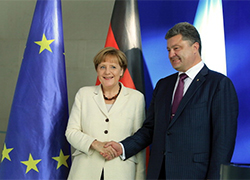 Poroshenko and Merkel discuss prospects of Ukraine's European integration