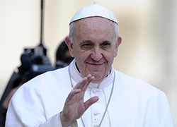 Pope extended his blessings to Belarusians