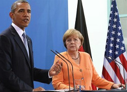 Obama, Merkel support further sanctions against Russia