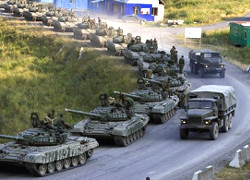 60 Russian tanks in 20 km from Mariupol