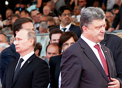 Poroshenko and Putin agree on ceasefire in Donbas