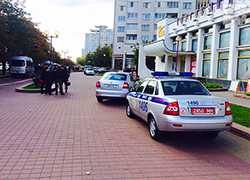 Exchange cashier taken hostage by man at �Happiness� shopping centre in Minsk (Video)