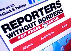 «Репортеры без границ»: Массовая блокировка сайтов в Беларуси незаконна