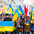 The citizens in Warsaw went on a solidarity march with Ukraine