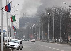 Бой в Грозном фото