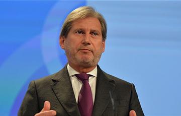 Еврокомиссару Хану напомнили о белорусских политзаключенных