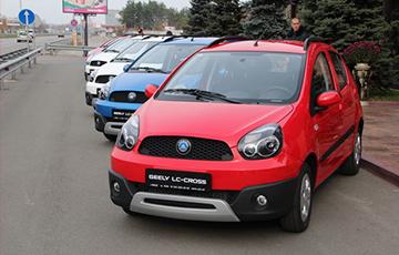 Продажи борисовских «Джили» в России упали вдвое