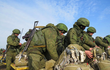 Trainings of Russian troopers held near Brest