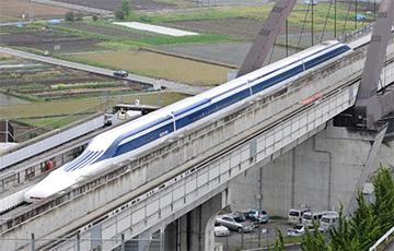 В Японии тестируют поезд, способный достичь 400 км/ч