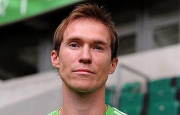 Александр Глеб дебютировал за футбольный клуб «Ислочь»