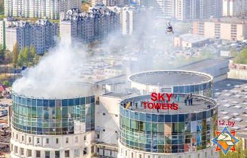 В Минске полностью эвакуировали людей из бизнес-центра