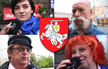 Survey in Minsk: Belarusians consider Pahonia their coat of arms