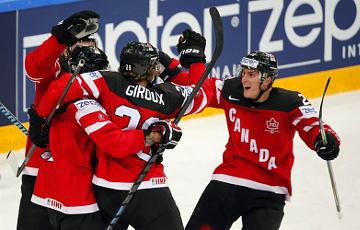 Канада вышла в финал ЧМ-2021 по хоккею в Риге