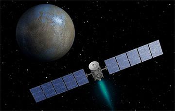 Станция Dawn заметила на Церере загадочные вспышки